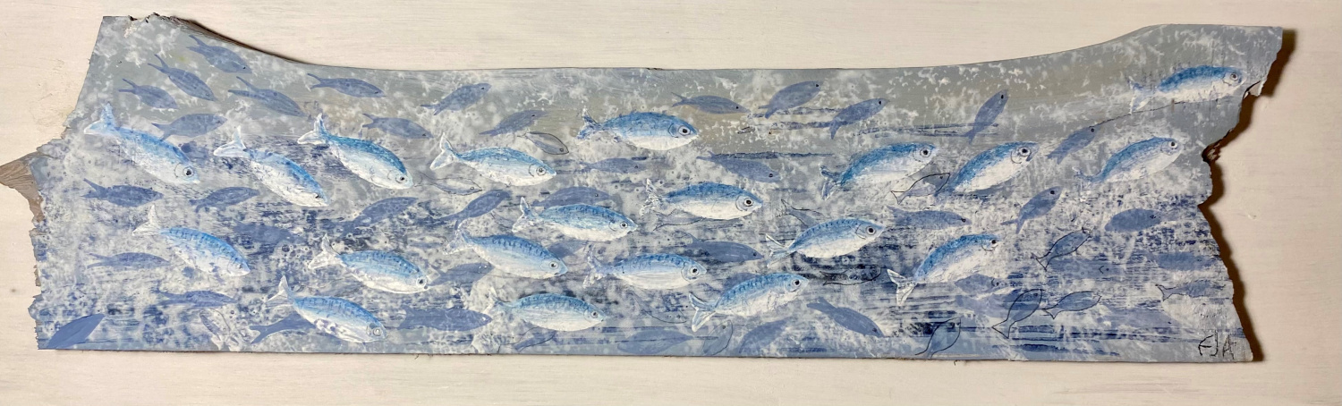 Fish community by Eleanor Allitt