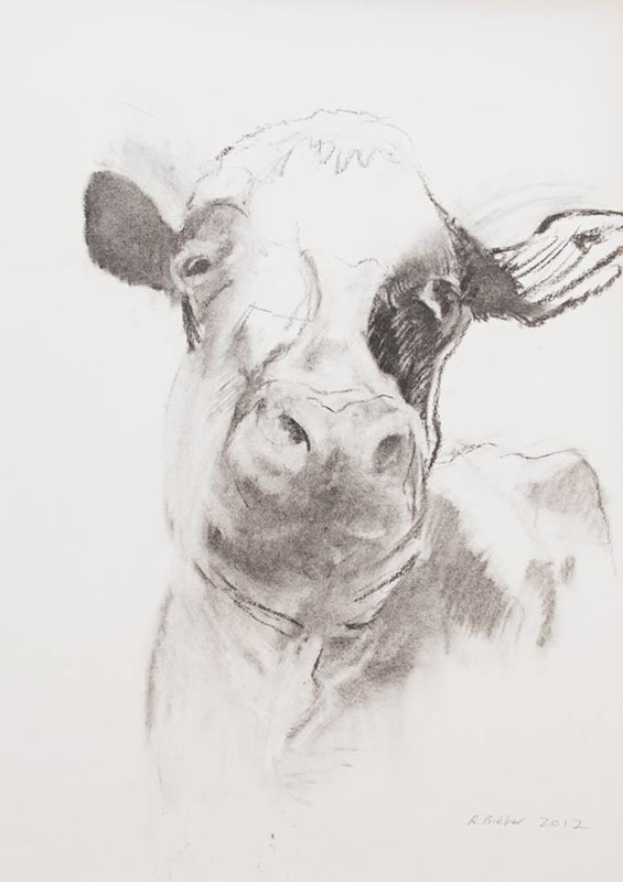 Cow by Rosalind Bieber