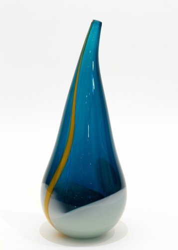 Large Flame - Blue/Green