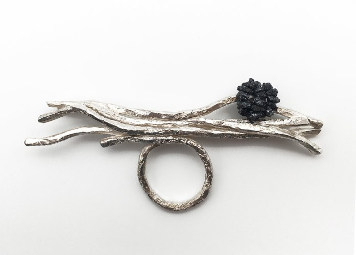 Twig Cluster Ring