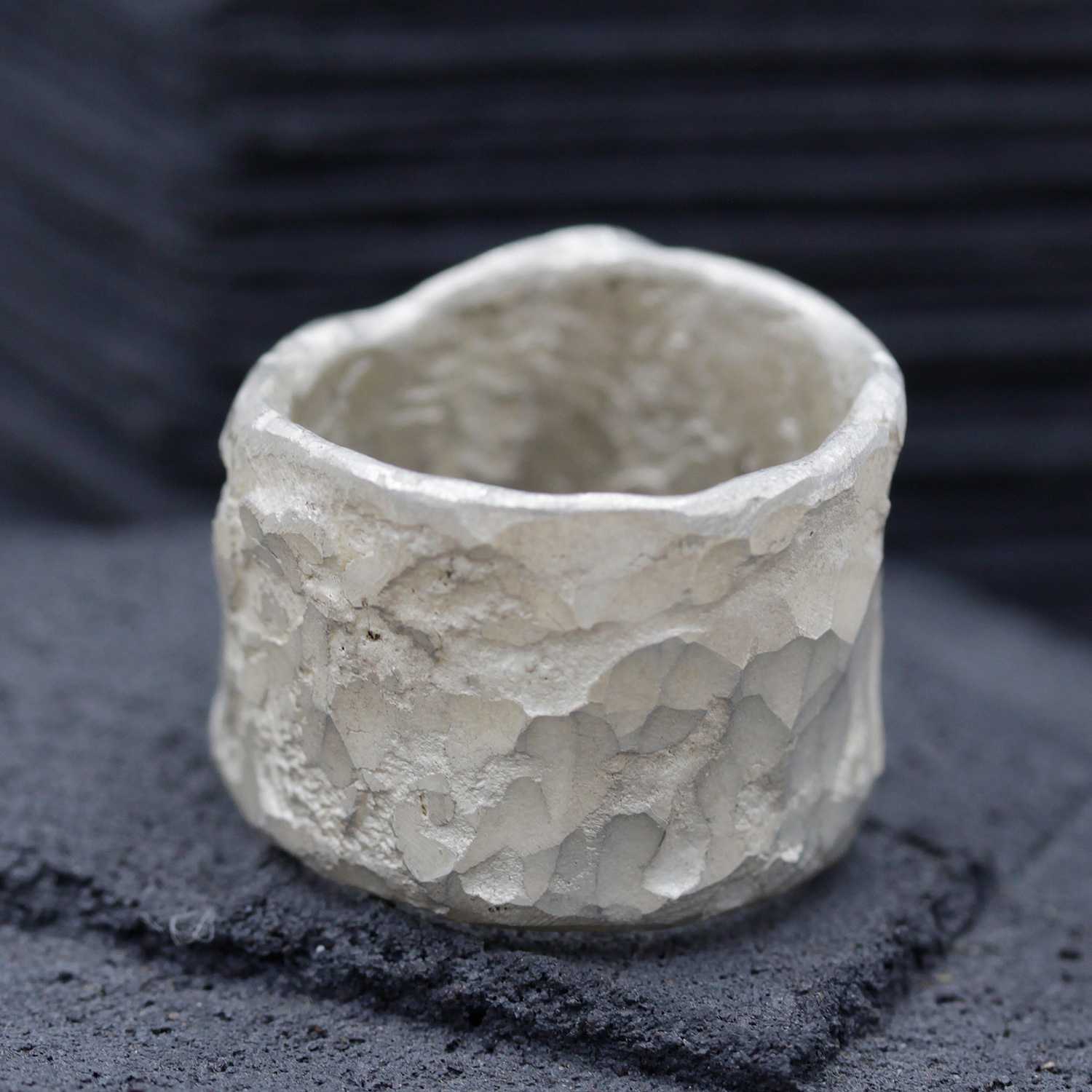 Wide Organic Ring by Disa Allsopp