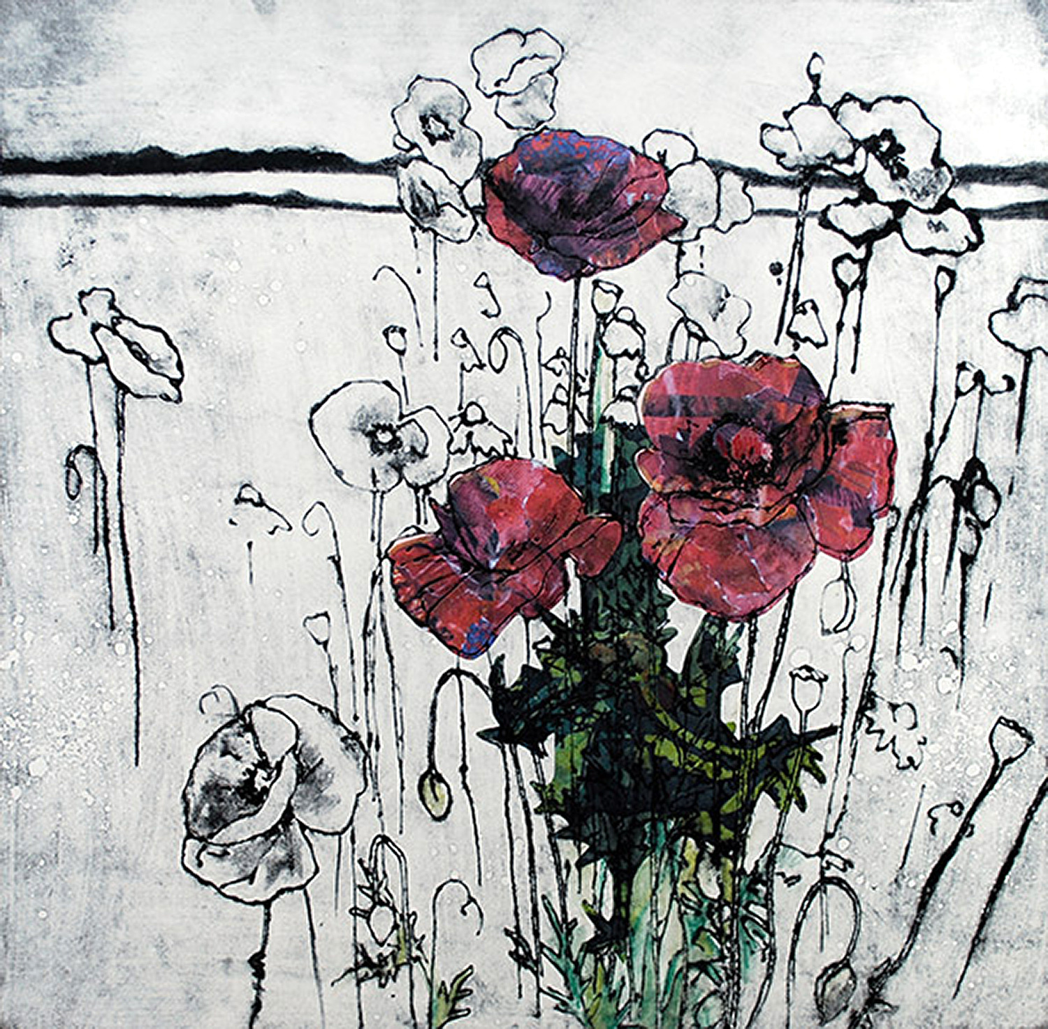 Poppies by Anna Perlin