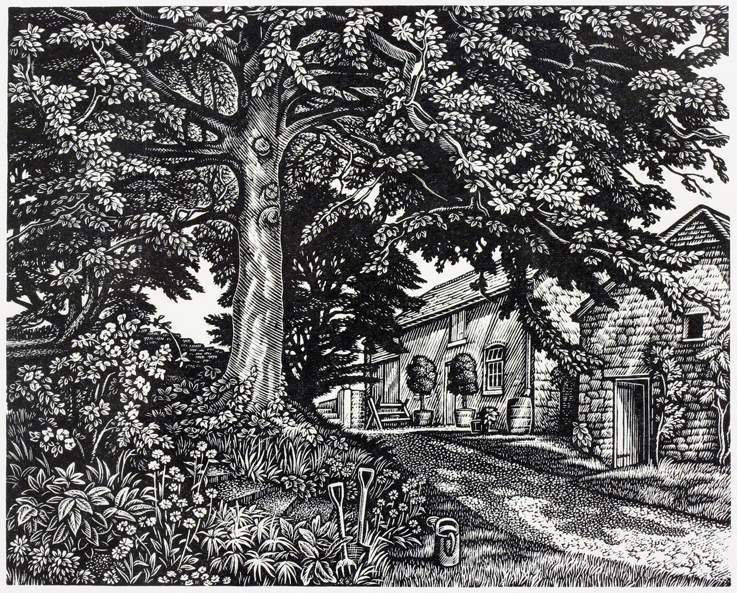 Old Rectory Garden by Howard Phipps