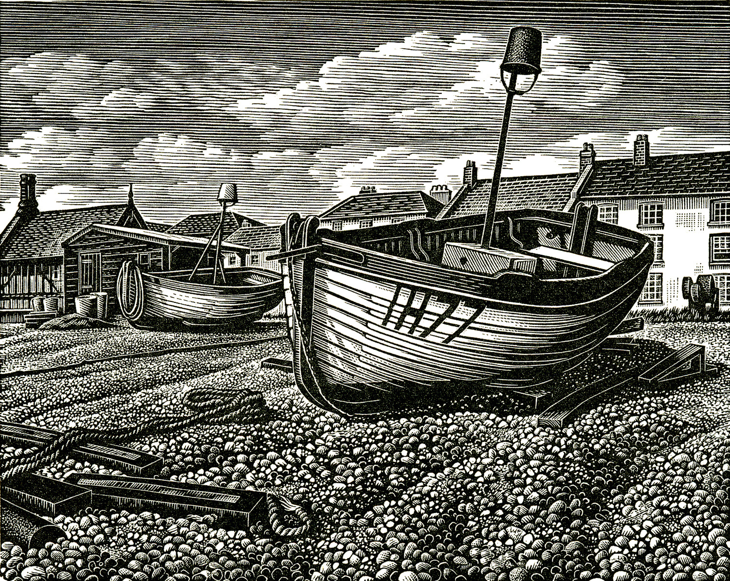 Aldeburgh Beach by Howard Phipps