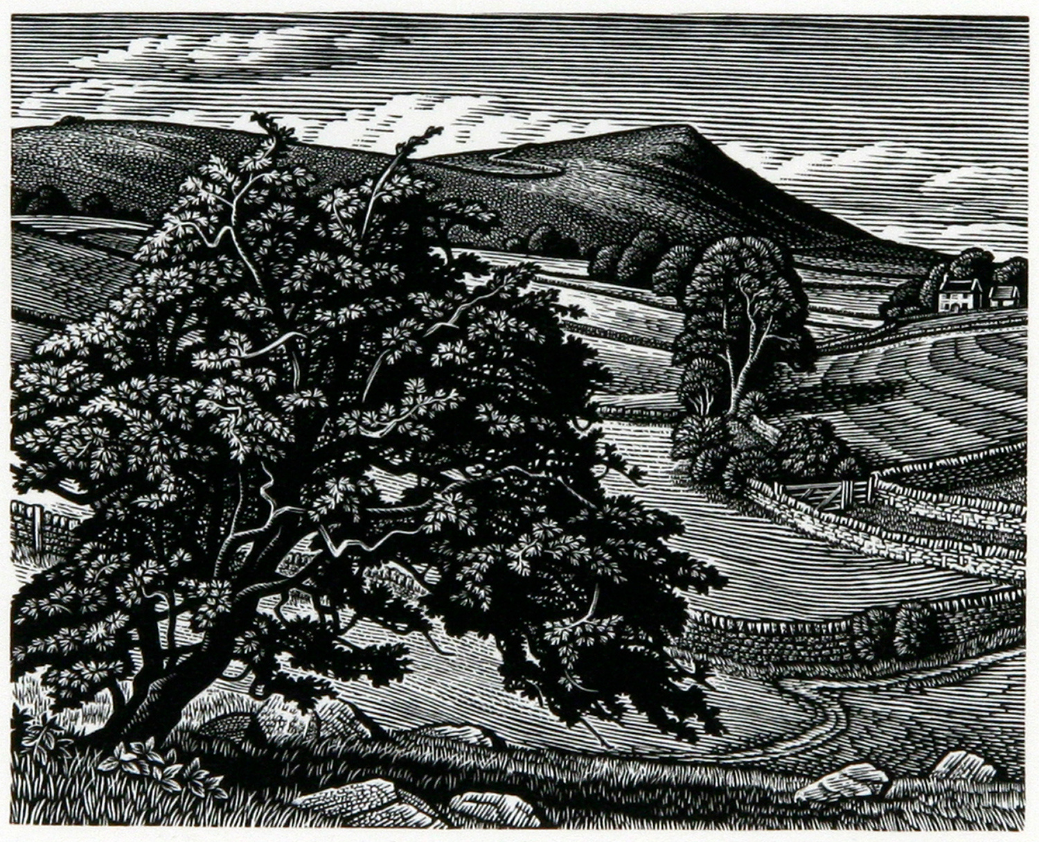 Wetton Hill by Howard Phipps
