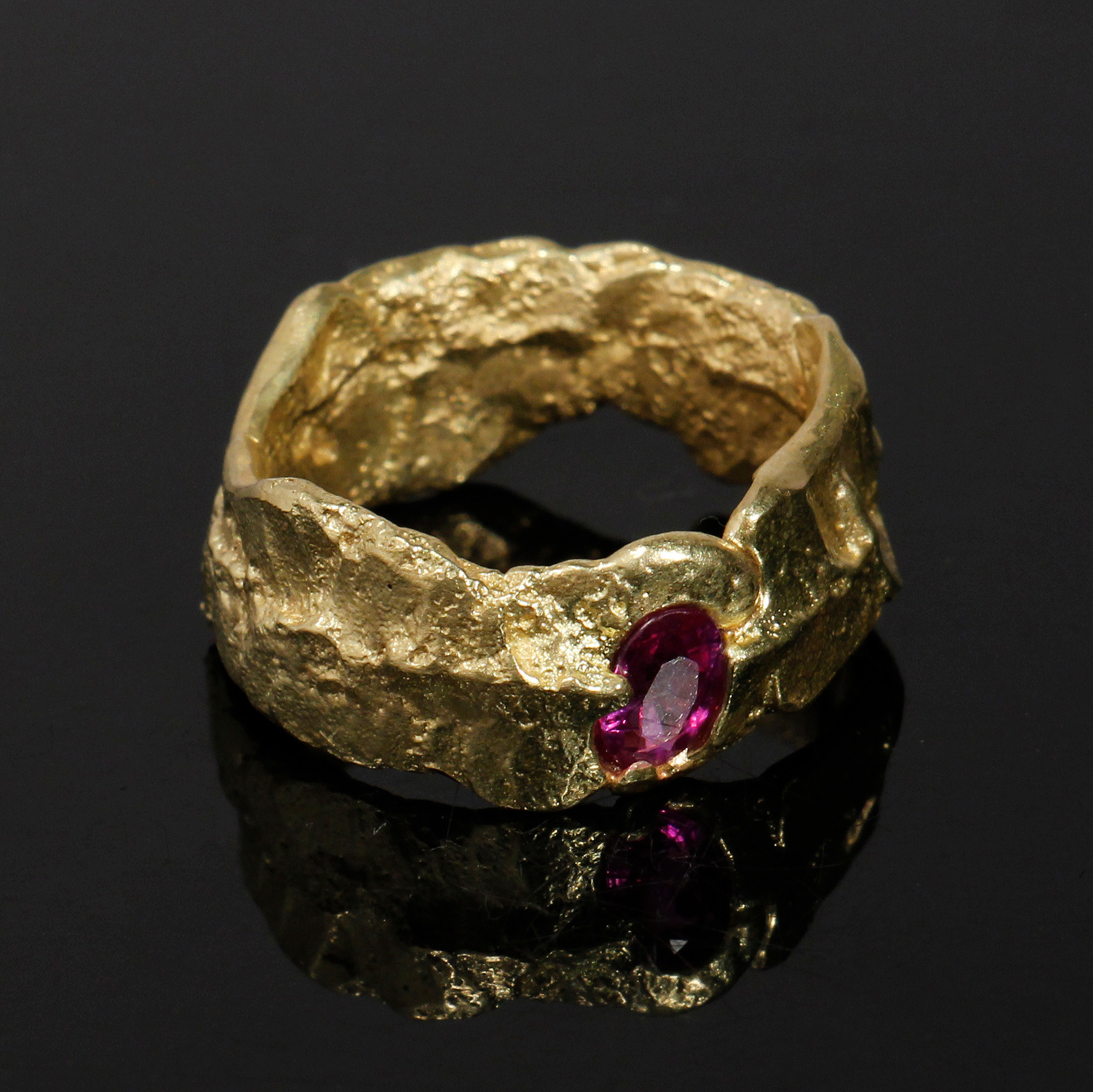 Freeform Ring by Kelvin Birk