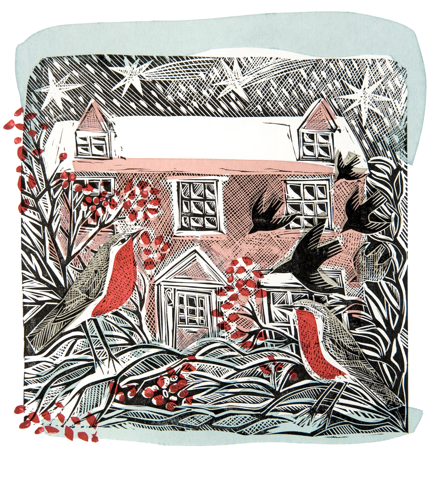Bircham Christmas by Angela Harding