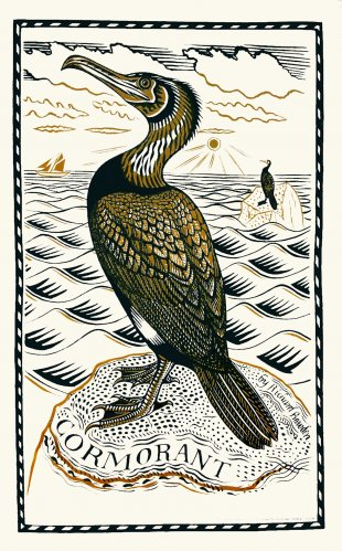 Tea Towel Cormorant