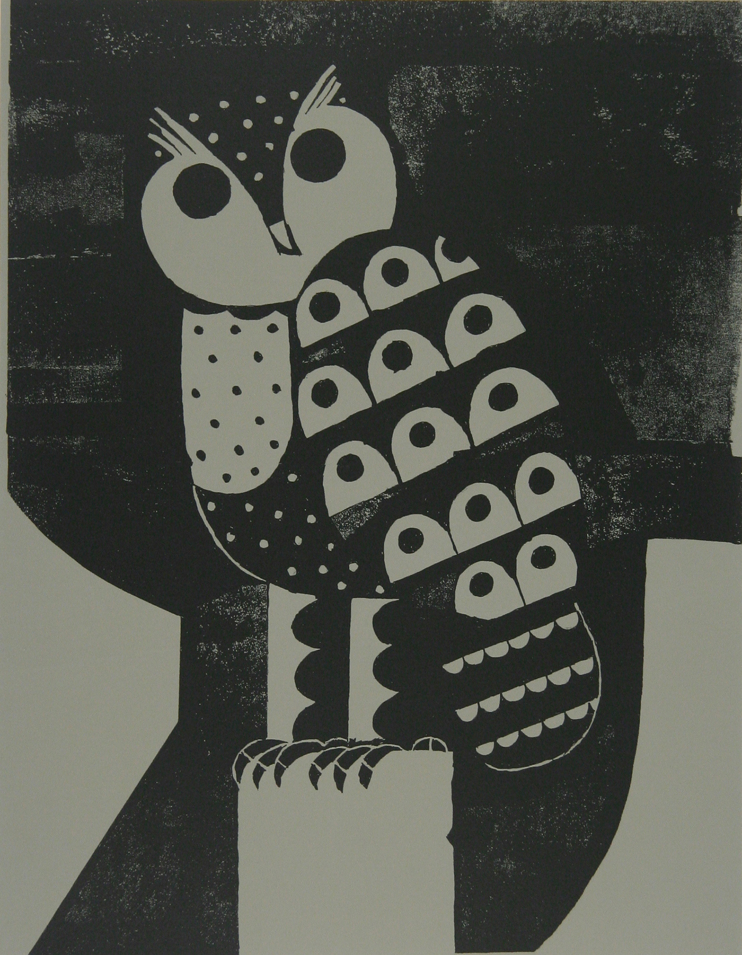 Owl by Reg Cartwright