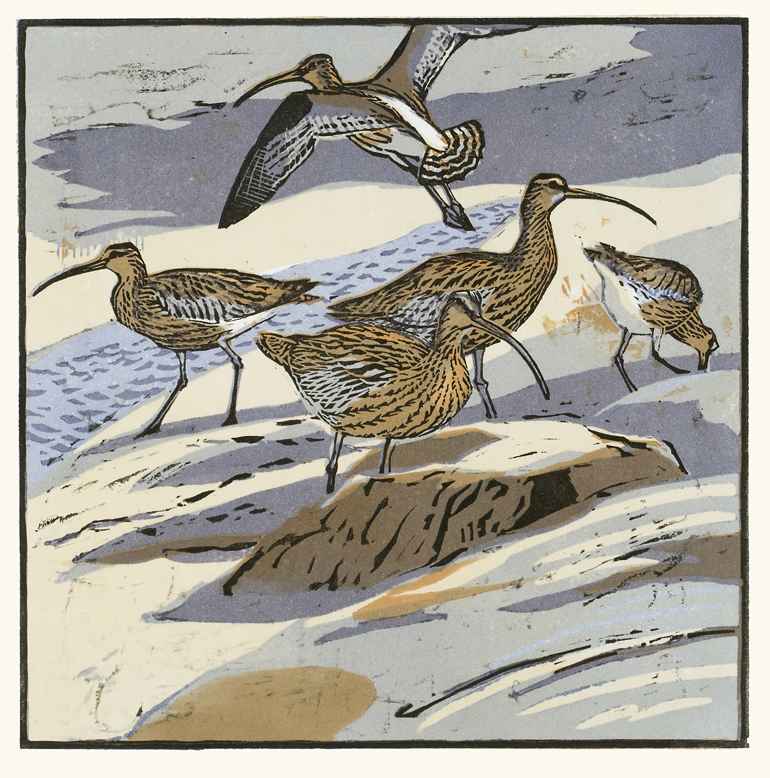 Curlews by Robert Greenhalf