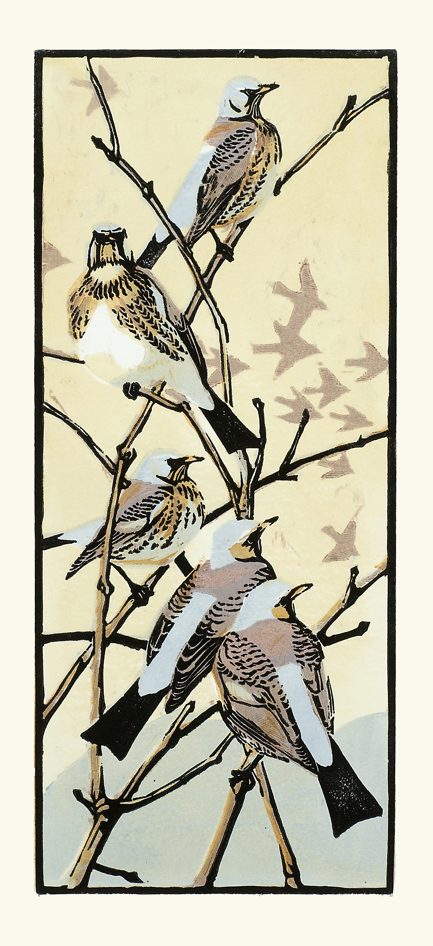 Winter Thrushes by Robert Greenhalf