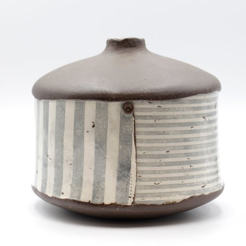 Grey Stripes Bottle