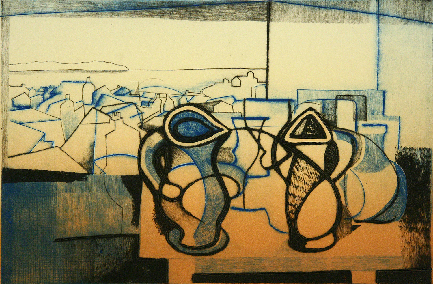 Coastal Still Life I by Trevor Price