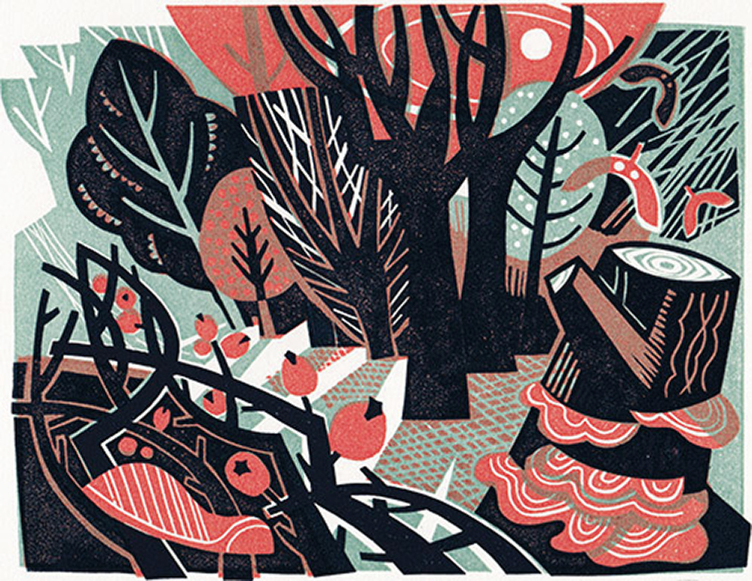 Woodland by Clare Curtis