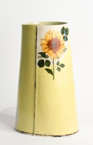 Tall Yellow Vessel