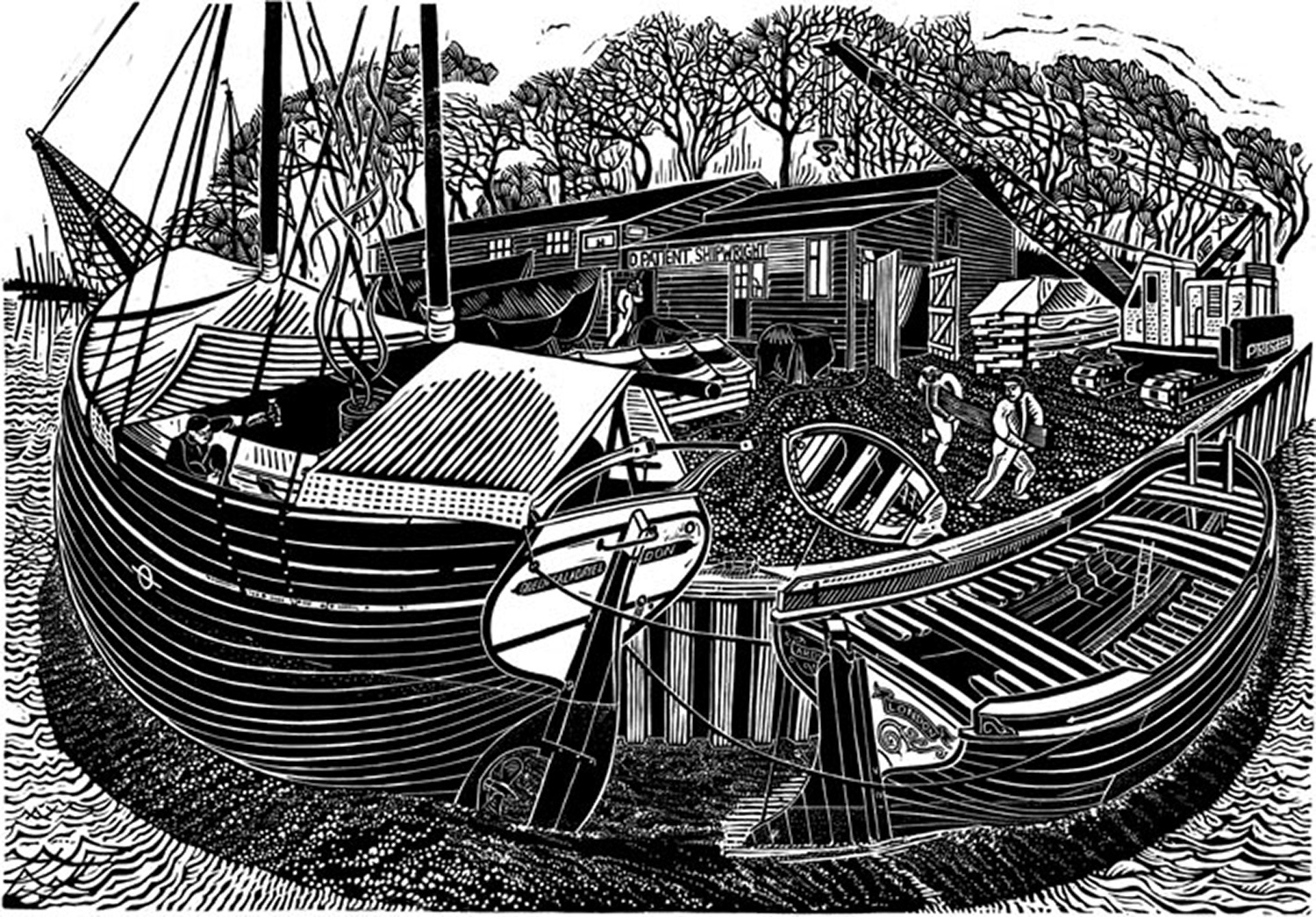 Shipwrights Yard by James Dodds